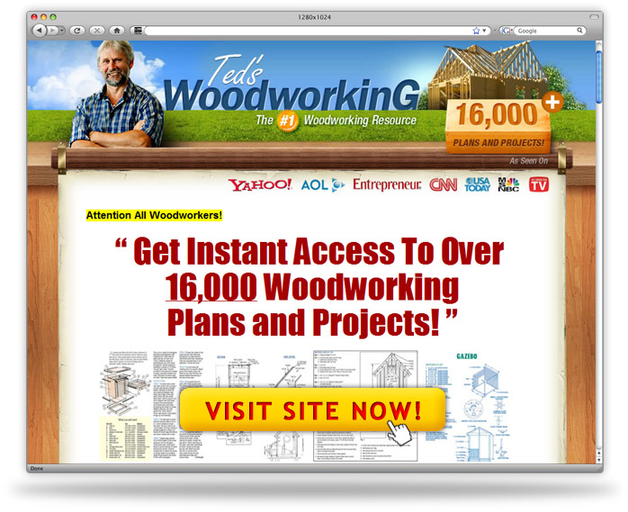ted's woodworking plans